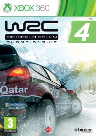 WRC 4 FIA World Rally Championship (2013) XBOX360