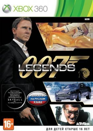 007 Legends (2012) XBOX360