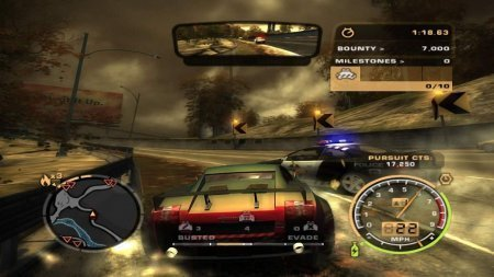 Need for Speed: Most Wanted (2005) Xbox360