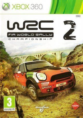 WRC 2 FIA World Rally Championship 2 (2011) XBOX360