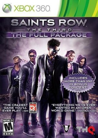 Saints Row : The Third - The Full Package (2011) XBOX360