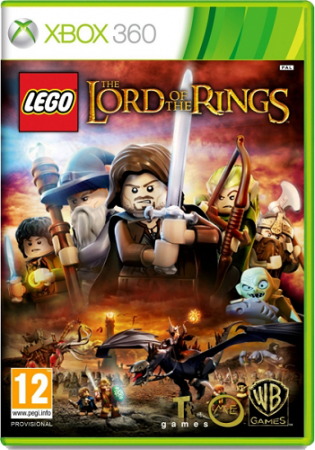 LEGO: Властелин колец / LEGO: The Lord Of The Rings (2012) XBOX360