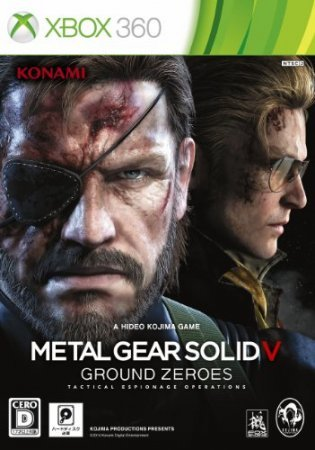 Metal Gear Solid V: Ground Zeroes (2014) Xbox360