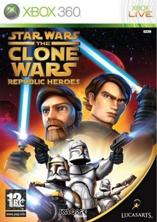 Star Wars: The Clone Wars Republic Heroes (2009) XBOX360