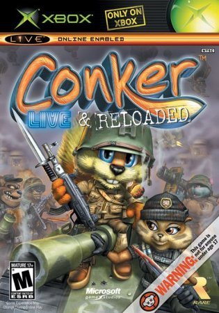 Conker Live and Reloaded (2005) Xbox360