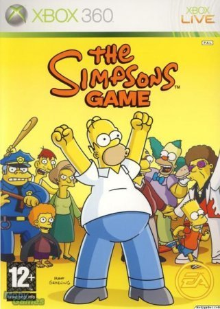 The Simpsons Game (2007) XBOX360