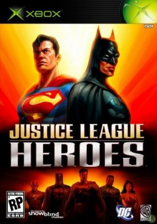 Justice League Heroes (2006) Xbox360