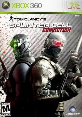 Tom Clancy's Splinter Cell: Conviction (2010) Xbox360