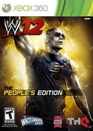 WWE 12 People's Edition (2011) Xbox360
