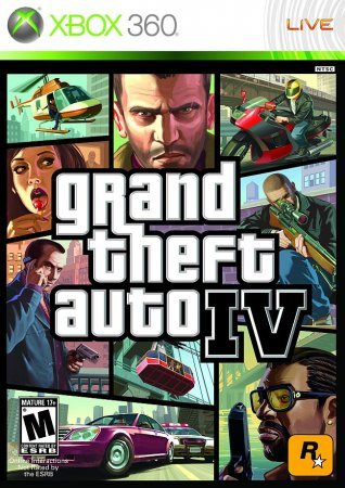 GTA 4 / Grand Theft Auto IV (2008) XBOX360