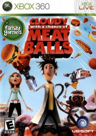 Cloudy with a Chance of Meatballs (2009) XBOX360