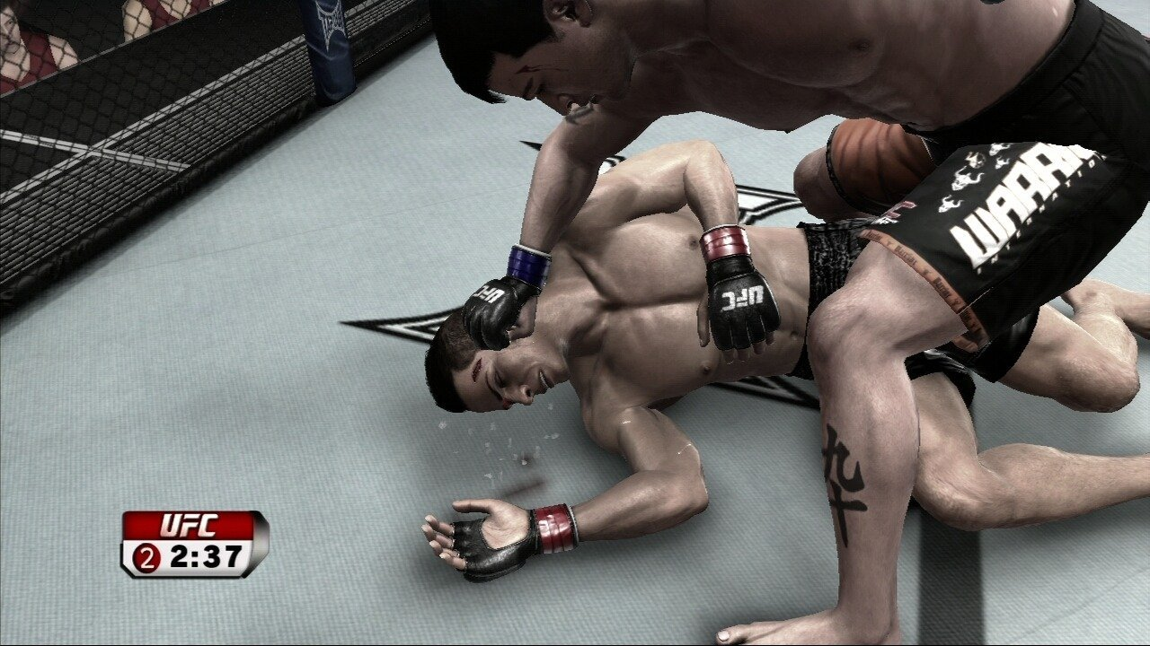 Hands-on preview: ufc undisputed 2009