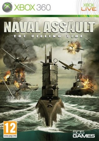 Naval Assault. The Killing Tide (2006) Xbox360