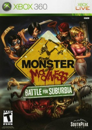Monster Madness: Battle for Suburbia (2007) Xbox360