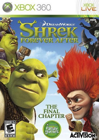 Shrek Forever After (2010) Xbox360