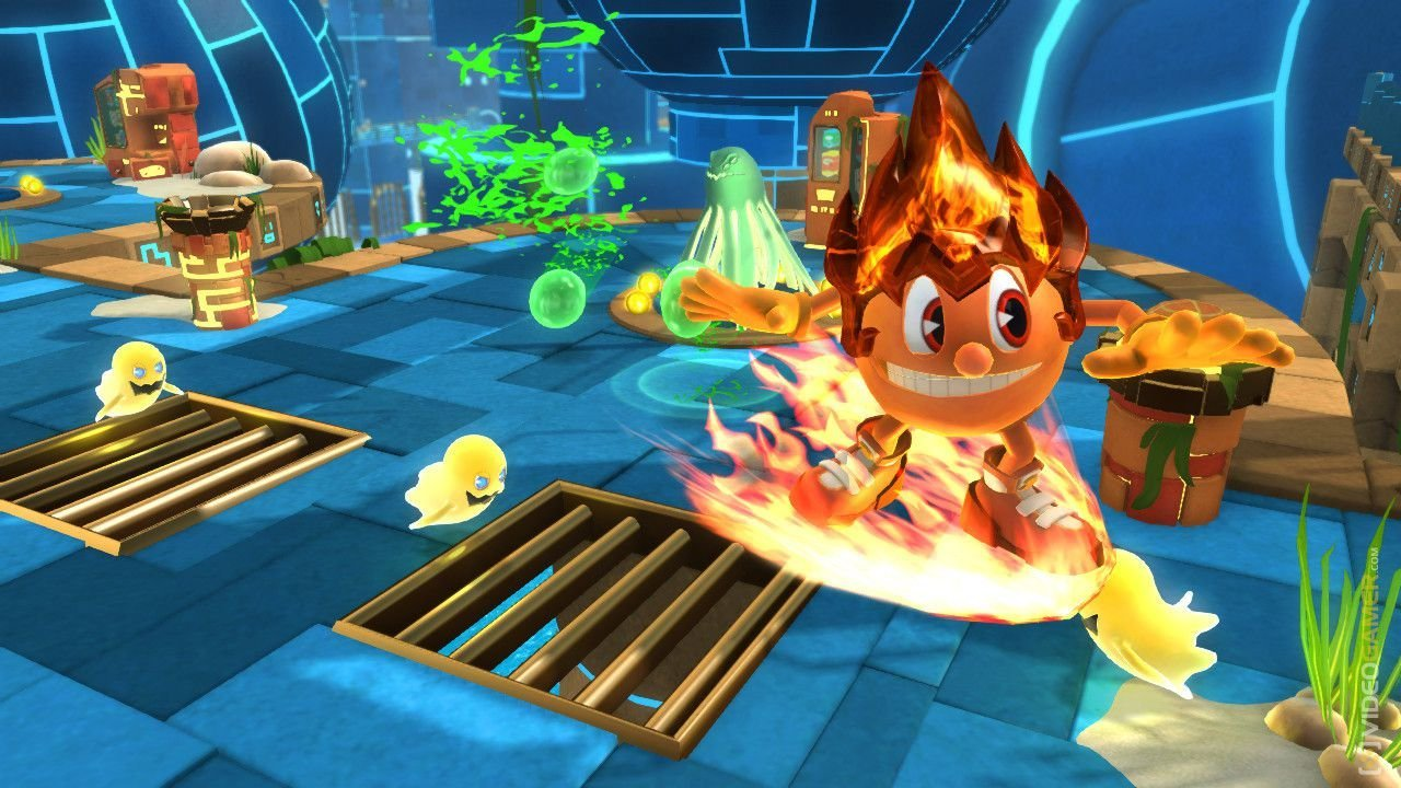Pac man ghostly adventures games online