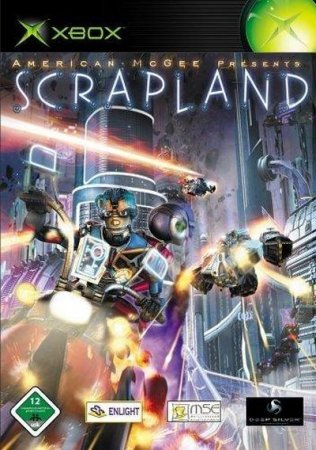 American McGee - Scrapland (2005) Xbox360