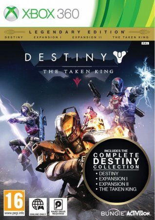 Destiny: The Taken King Legendary Edition (2015) Xbox360