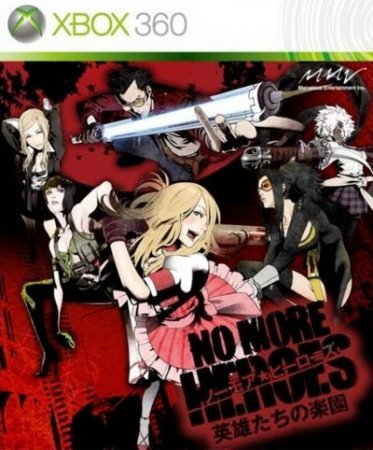 No More Heroes Eiyuutachi no Rakuen (2010) Xbox360