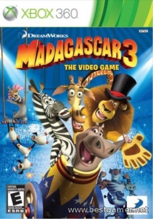 Мадагаскар 3: The Video Game (2012) Xbox360