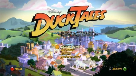 DuckTales Remastered (2013) XBOX360