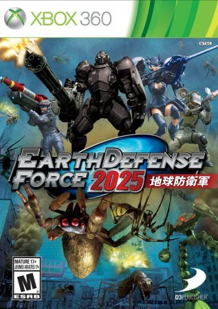 Earth Defense Force 4 2025 (2014) XBOX360