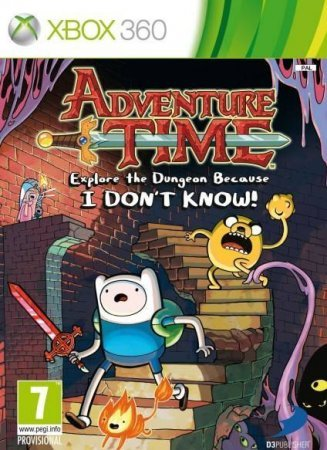 Adventure Time Explore the Dungeon Because I Don't Know! (2013) XBOX360