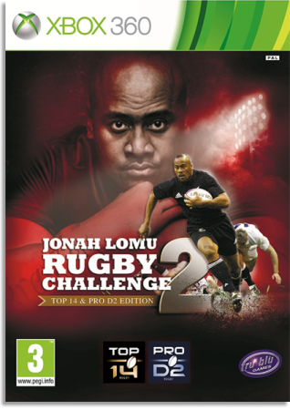 Jonah Lomu Rugby Challenge 2 (2013) XBOX360