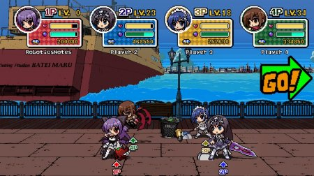 Phantom Breaker:Battle Grounds (2013) XBOX360