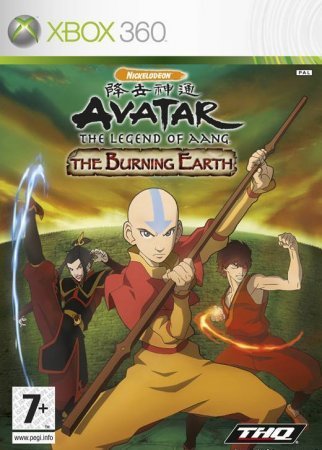 Avatar: The Last Airbender - The Burning Earth (2007) XBOX360