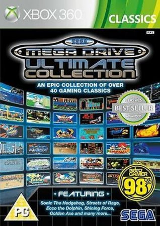 Sega Mega Drive Ultimate Collection (2009) XBOX360