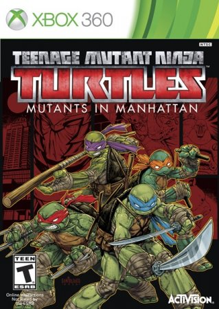 Teenage Mutant Ninja Turtles: Mutants in Manhattan (2016) XBOX360