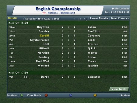 Football Manager 2006 (2006) XBOX360