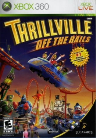 Thrillville: Off the Rails (2007) XBOX360