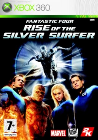Fantastic Four: Rise of the Silver Surfer (2007) XBOX360