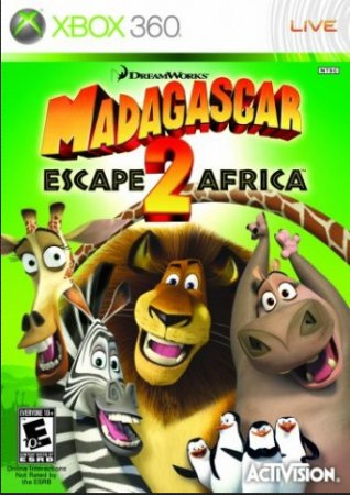 Madagascar 2: Escape to Africa (2008) XBOX360
