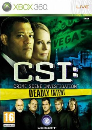 CSI: Deadly Intent (2009) XBOX360