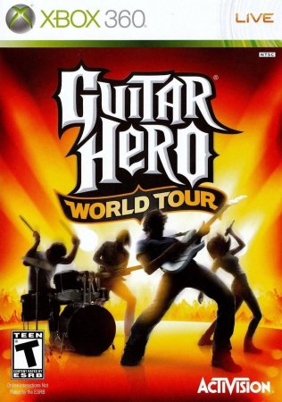 Guitar Hero - World Tour (2008) XBOX360