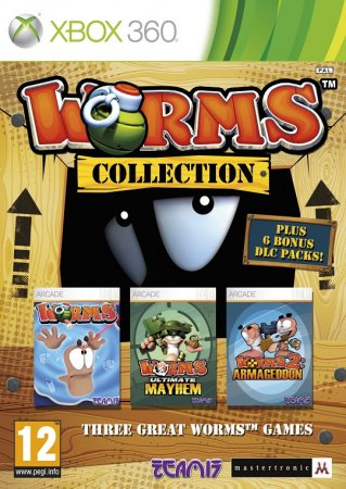 Worms Collection (2012) XBOX360