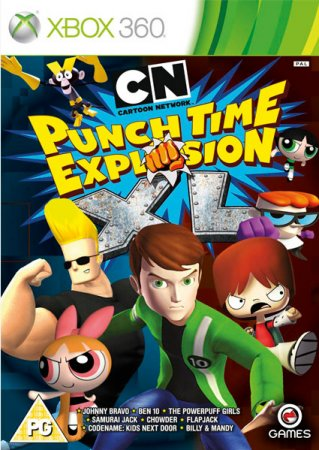 Cartoon Network Punch Time Explosion XL (2012) XBOX360