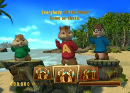 Alvin and the Chipmunks: Chipwrecked (2012) XBOX360