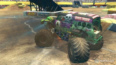 Monster Jam: Path of Destruction (2010) XBOX360
