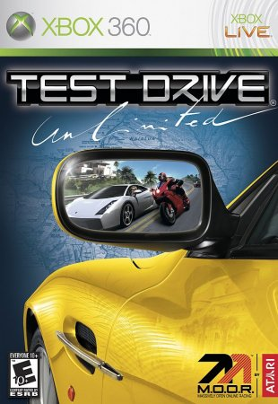 Test Drive Unlimited (2006) XBOX360