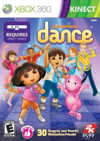 Nickelodeon Dance (2011) XBOX360
