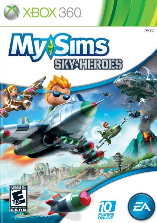 My Sims Sky Heroes (2010) XBOX360