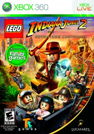LEGO Indiana Jones 2: The Adventure Continues (2009/FREEBOOT)