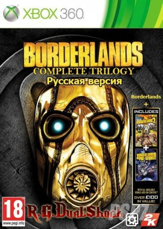 Borderlands Complete Trilogy (2009-2012-2015/FREEBOOT)